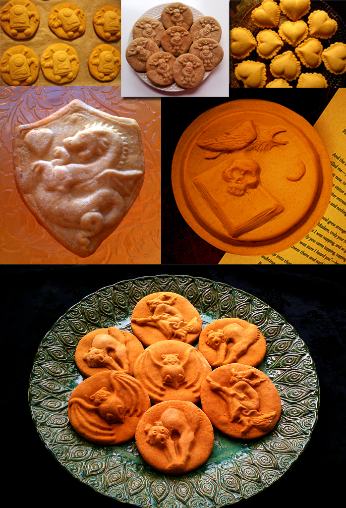 ZANDA PANDA Cookie Mold Composite